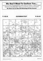 Savannah T142N-R36W, Becker County 1992 Published by Farm and Home Publishers, LTD